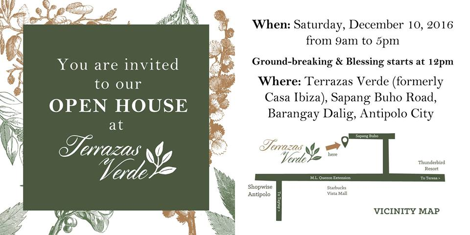 Terrazas verde open house and groundbreaking ceremony at for Terrazas verdes